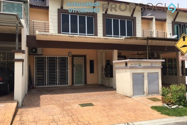 For Sale Terrace at Section 16, Shah Alam Freehold Semi Furnished 4R/4B 650k