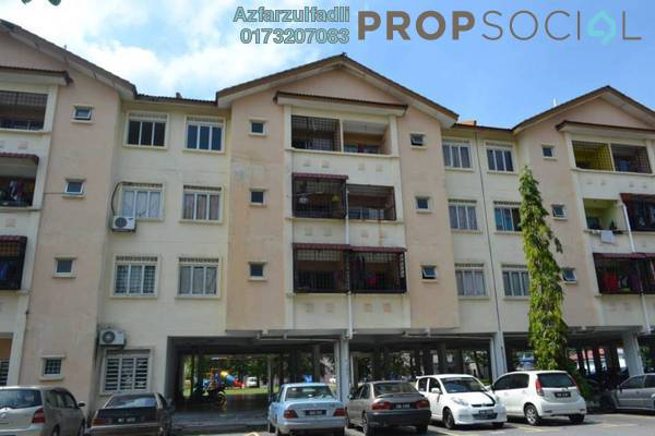 For Sale Apartment at Taman Langat Murni Apartment, Banting Freehold Unfurnished 3R/3B 140k
