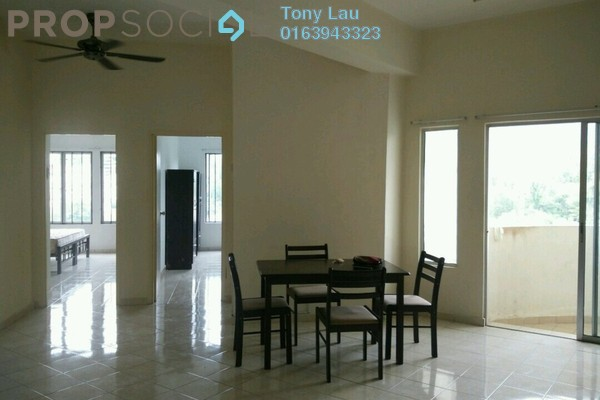 For Rent Condominium at Casa Suria, Batu 9 Cheras Freehold Semi Furnished 4R/2B 1.1k