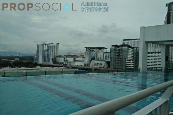 For Sale Condominium at Menara U2, Shah Alam Freehold Semi Furnished 2R/1B 310k