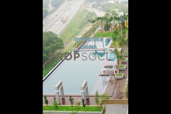 For Rent Serviced Residence at Alam Sanjung, Shah Alam Freehold Semi Furnished 3R/2B 1.5k