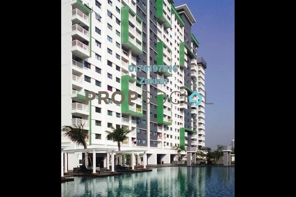For Sale Serviced Residence at Alam Sanjung, Shah Alam Freehold Semi Furnished 3R/2B 390k