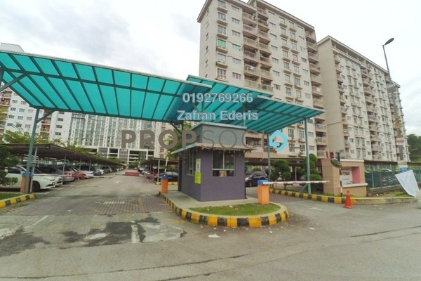 For Sale Apartment at Cahaya Permai, Bandar Putra Permai Freehold Unfurnished 3R/2B 310k
