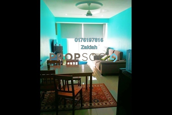 For Rent Serviced Residence at Menara U, Shah Alam Freehold Fully Furnished 2R/1B 1.7k