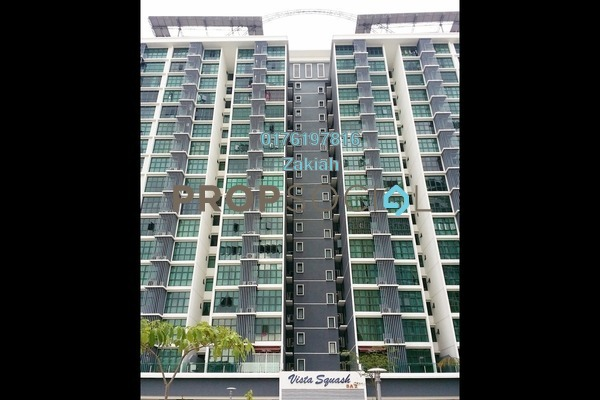 For Rent Condominium at Vista Alam, Shah Alam Freehold Fully Furnished 2R/2B 1.7k