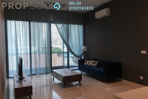 For Sale Condominium at Vogue Suites One @ KL Eco City, Mid Valley City Freehold Fully Furnished 2R/2B 1.5m