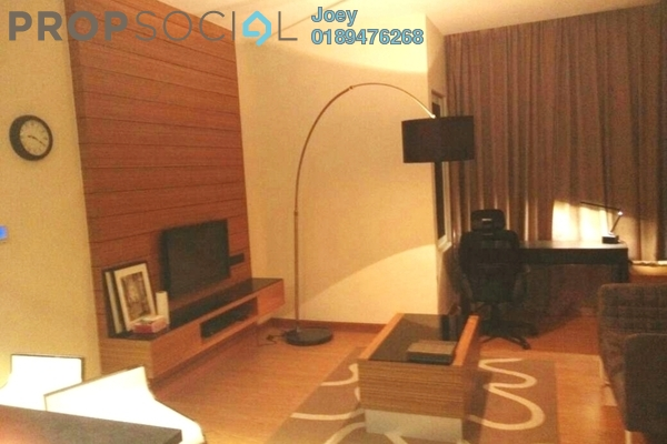 For Rent Condominium at Dua Sentral, Brickfields Freehold Fully Furnished 1R/1B 2.3k