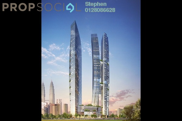 For Sale Serviced Residence at YOO8 serviced by Kempinski @ 8 Conlay, KLCC Freehold Fully Furnished 3R/2B 1.7m
