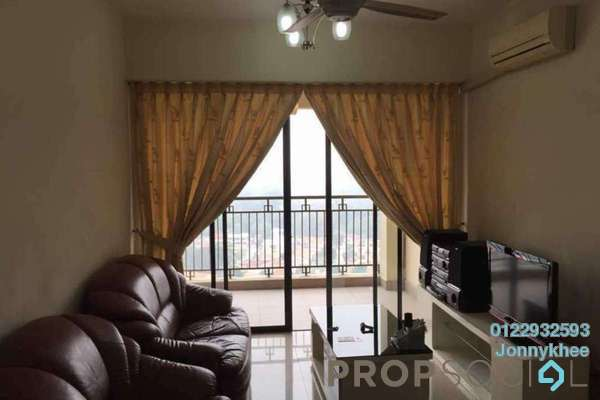 For Rent Condominium at Rivercity, Sentul Freehold Semi Furnished 3R/3B 1.7k