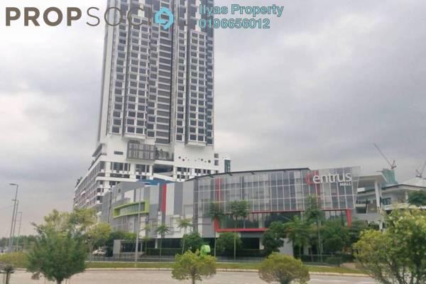 For Rent Condominium at Centrus SoHo 1, Cyberjaya Freehold Unfurnished 1R/1B 1.2k