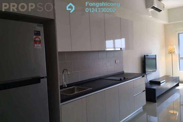 For Rent SoHo/Studio at The Wharf, Puchong Freehold Fully Furnished 0R/0B 1.1k