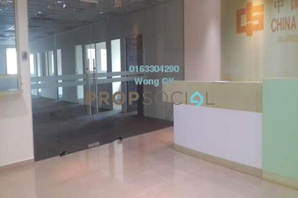 For Rent Office at Menara Zurich, Johor Bahru Freehold Semi Furnished 1R/1B 7.72k