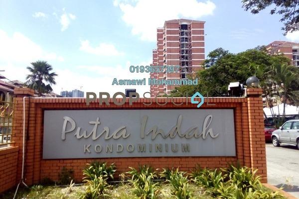 For Sale Condominium at Putra Indah Condominium, Seri Kembangan Leasehold Semi Furnished 3R/3B 465k