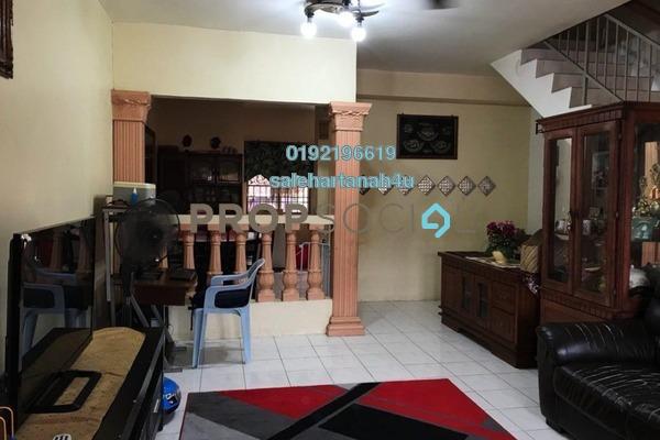For Sale Terrace at Taman Selayang Mulia, Selayang Freehold Semi Furnished 4R/4B 495k