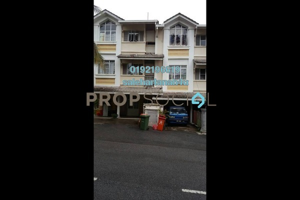 For Sale Townhouse at Precinct 16, Putrajaya Freehold Semi Furnished 3R/3B 550k