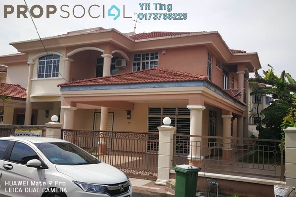 For Sale Semi-Detached at Taman Sutera Wangi, Batu Berendam Freehold Semi Furnished 5R/3B 750k