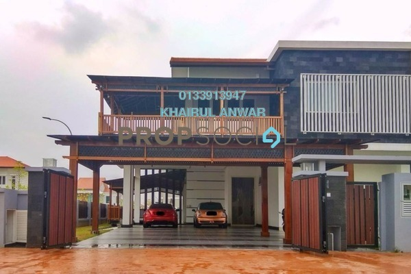For Sale Semi-Detached at Temasya Cinta, Temasya Glenmarie Freehold Semi Furnished 6R/5B 3.97m
