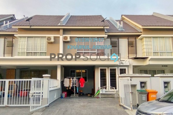 For Sale Terrace at S2 Heights, Seremban 2 Freehold Semi Furnished 4R/3B 500k