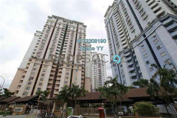 For Sale Condominium at Ridzuan Condominium, Bandar Sunway Leasehold Fully Furnished 2R/1B 303k