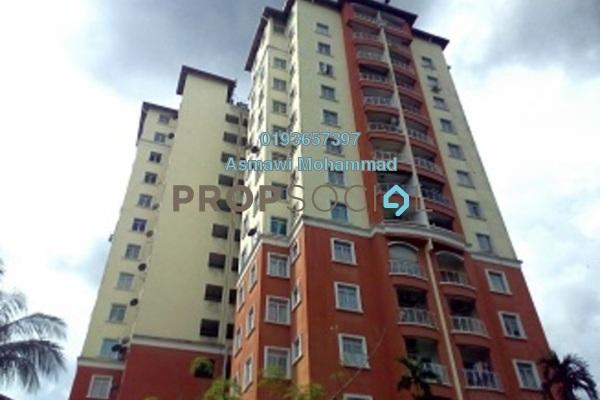 For Sale Apartment at Permata Apartment, Batu 9 Cheras Freehold Semi Furnished 4R/3B 480k