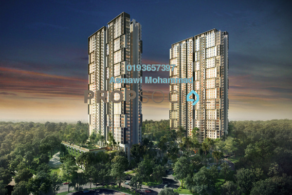 For Rent Condominium at Verdi Eco-dominiums, Cyberjaya Freehold Fully Furnished 3R/3B 3.2k