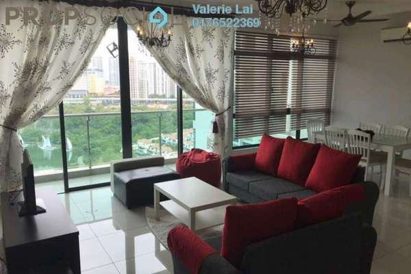 For Rent Condominium at LaCosta, Bandar Sunway Freehold Fully Furnished 2R/2B 3.7k