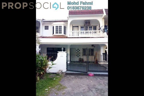 For Sale Terrace at Taman Cheras Indah, Cheras Freehold Semi Furnished 5R/3B 730k