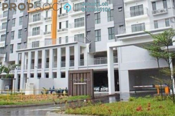 For Rent Condominium at T-Parkland, Templer's Park Freehold Semi Furnished 3R/3B 1.2k