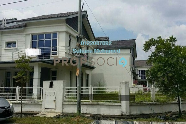 For Sale Semi-Detached at Royal Ivory 2, Bandar Saujana Putra Freehold Semi Furnished 4R/3B 800k