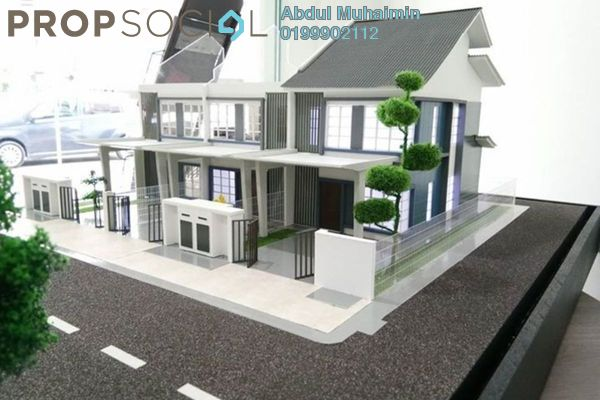 For Sale Terrace at Kampung Bukit Naga, Shah Alam Freehold Unfurnished 4R/3B 409k
