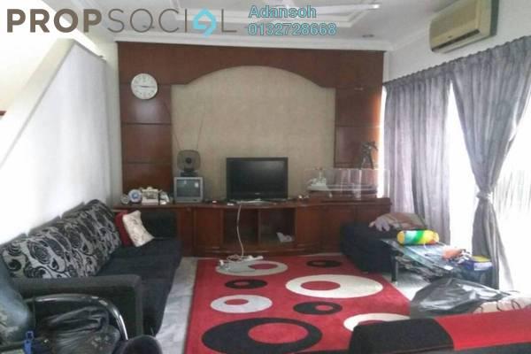 For Sale Terrace at SD9, Bandar Sri Damansara Freehold Semi Furnished 4R/3B 970k