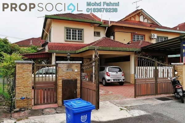 For Sale Terrace at Section 7, Shah Alam Freehold Semi Furnished 4R/3B 900k