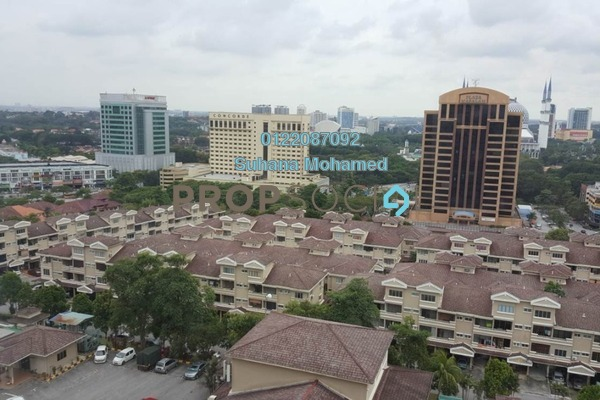For Sale Condominium at Sri Mahligai, Shah Alam Freehold Semi Furnished 3R/2B 370k