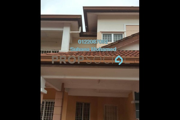 For Rent Terrace at Desa Alam, Shah Alam Freehold Semi Furnished 4R/2B 1.8k