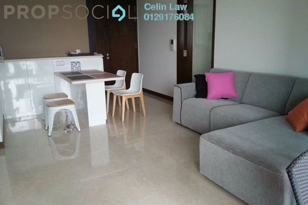 For Rent Apartment at Tasik Heights Apartment, Bandar Tasik Selatan Freehold Semi Furnished 3R/2B 1.1k