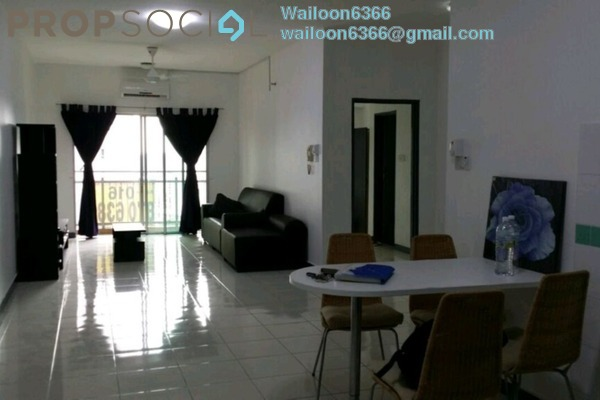 For Rent Condominium at Metropolitan Square, Damansara Perdana Freehold Semi Furnished 3R/2B 1.8k