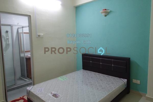 For Rent Condominium at Taman Sri Bunga, Sungai Nibong Freehold Semi Furnished 3R/2B 1.15k