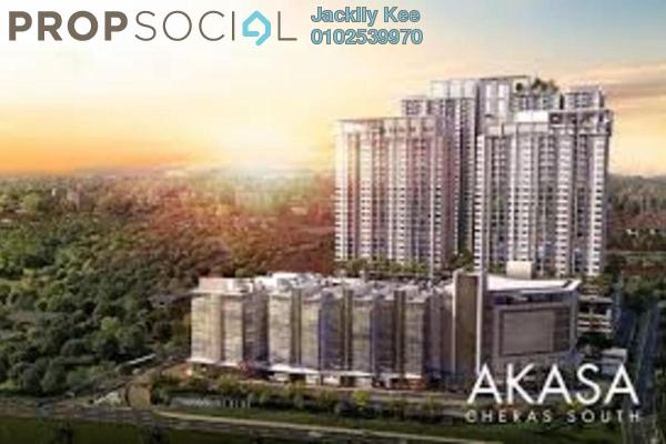 For Sale Condominium at Akasa, Balakong Freehold Semi Furnished 3R/2B 430k