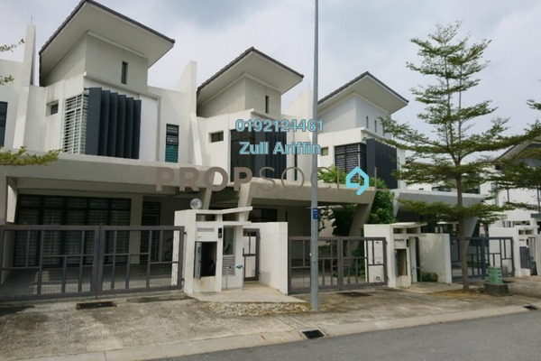 For Sale Terrace at Laman Glenmarie, Saujana Freehold Unfurnished 4R/4B 1.1m