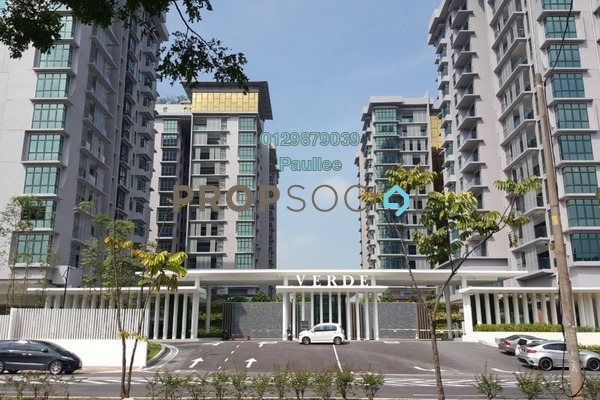 For Sale Condominium at Verde, Ara Damansara Freehold Semi Furnished 3R/2B 950k