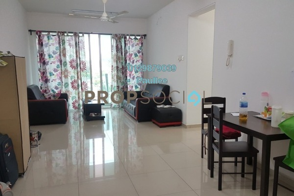 For Sale Condominium at The Zest, Bandar Kinrara Freehold Fully Furnished 3R/2B 630k