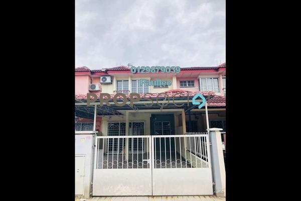 For Rent Terrace at PU8, Bandar Puchong Utama Freehold Semi Furnished 4R/3B 1.35k
