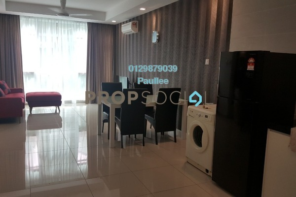 For Sale Condominium at Central Residence, Sungai Besi Freehold Fully Furnished 2R/2B 550k