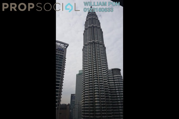 For Rent Condominium at K Residence, KLCC Freehold Semi Furnished 2R/3B 10k