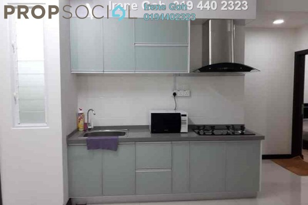 For Rent Condominium at Vertiq, Gelugor Freehold Fully Furnished 3R/2B 2k