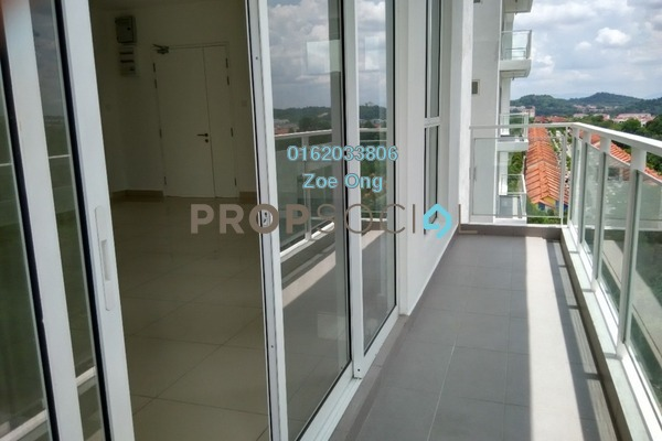 For Rent Condominium at Duet Residence, Bandar Kinrara Freehold Semi Furnished 3R/2B 1.4k