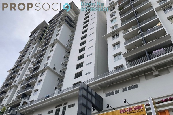 For Sale Condominium at Pearl Avenue, Kajang Freehold Semi Furnished 3R/2B 355k