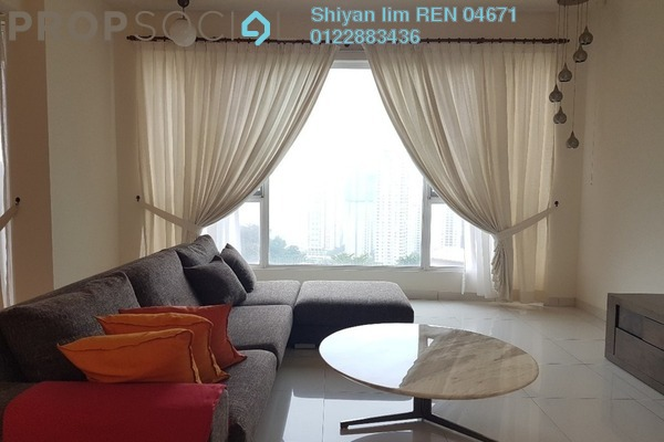 For Rent Condominium at Kiaramas Ayuria, Mont Kiara Freehold Fully Furnished 4R/4B 5.5k