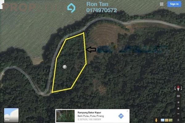 For Sale Land at Pulau Betong, Balik Pulau Freehold Unfurnished 0R/0B 9.17m