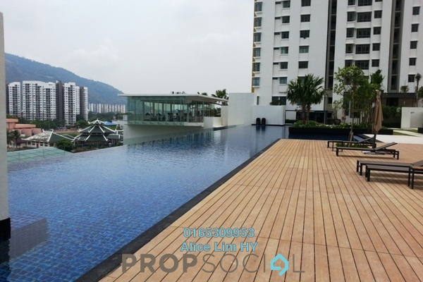 For Rent Condominium at All Seasons Park, Farlim Freehold Unfurnished 3R/2B 1.2k